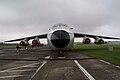 Lockheed C-141C Starlifter Hanoi Taxi HeadOn AirPark NMUSAF 26Sep09 (14599711085).jpg