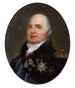 Government of the first Bourbon restoration - Louis XVIII