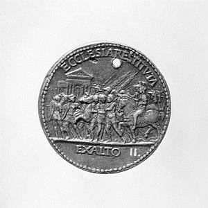 Cristoforo di Geremia - Lodovico Trevisan medal reverse