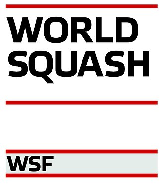 Australia men's national squash team - Image: Logo World Squash