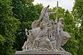 "London - Kensington Gardens - Albert Memorial 1875 - View SW on ""America"" group by John Bell.jpg"