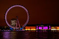 London Eye and Sea Life London Aquarium at night.jpg