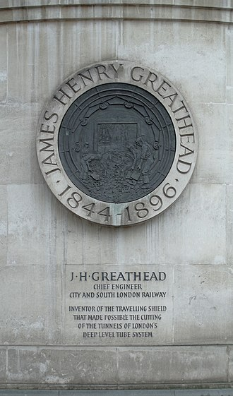 Statue of James Henry Greathead, London - Image: London MMB »2C8 Statue of James Henry Greathead