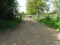 Long driveway to Palmers Barn - geograph.org.uk - 1286217.jpg