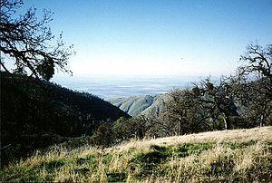Bear Mountain (Kern County, California) - Looking West From Bear Mountain