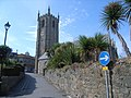 Looking up towards the Church - geograph.org.uk - 1423299.jpg