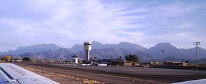 Loreto International Airport. Between the La G...