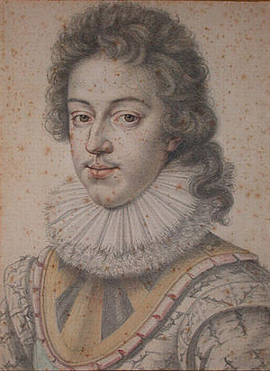Daniel Dumonstier - Louis XIII (1617), by Dumonstier