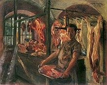 schlachterladen in schaftlarn an der isar 1897 kunsthalle bremen