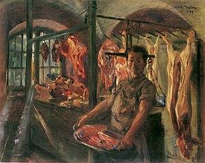 Schlachterladen in Schäftlarn an der Isar