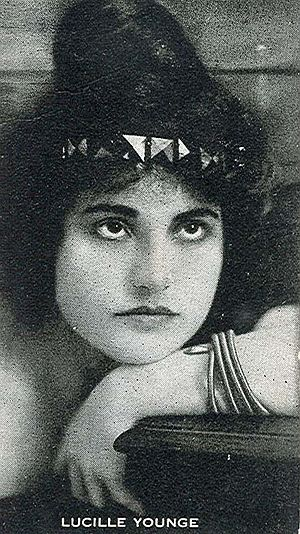 Lucille Young - Image: Lucille Younge trading card
