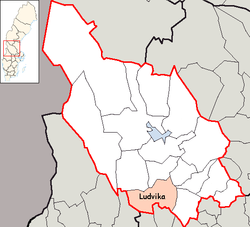 Ludvika Municipality in Dalarna County.png