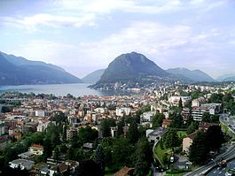 Lugano in mid-August 2008