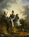 Luitenant-generaal Frederik Knotzer in de slag bij Houthalen, gedurende de Tiendaagse Veldtocht, 1831 Rijksmuseum SK-A-2816.jpeg