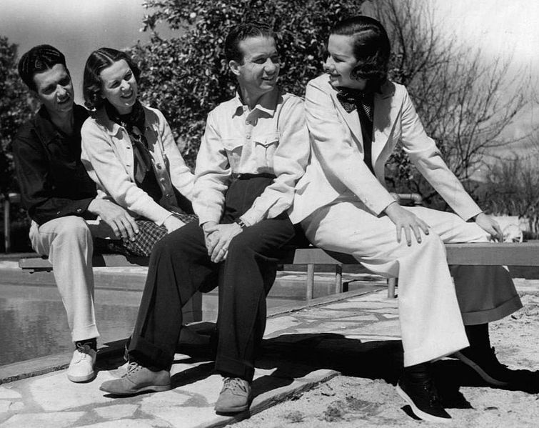 File:Lum and Abner with wives 1941.JPG