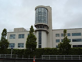 Luma Tower architectural structure in Glasgow City, Scotland, UK