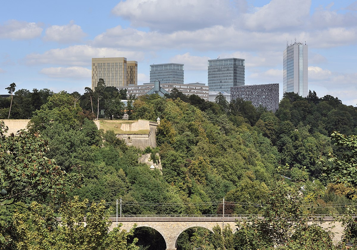 Kirchberg luxembourg wikip dia for Piscine de luxembourg