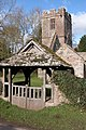 Lych Gate entrance to the ruined church at Llanwarne - geograph.org.uk - 129163.jpg