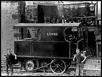 Hetton colliery railway - Lyons in 1901