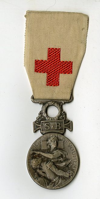 French Red Cross - Medal of the SSBM (1916)
