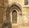 Mézidon-Canon église Saint-Pierre du Breuil porte.JPG