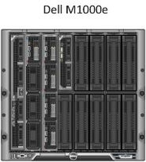 Dell M1000e - M1000e enclosure with selection of G12 server blades