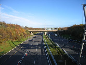 M50 motorway (Ireland) -  Between J1 and J2
