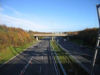 M50 motorway (Ireland) - Between J1 and J2