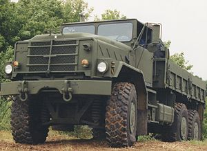 Oshkosh TAK-4 Independent Suspension System - Image: M939 with TAK 4