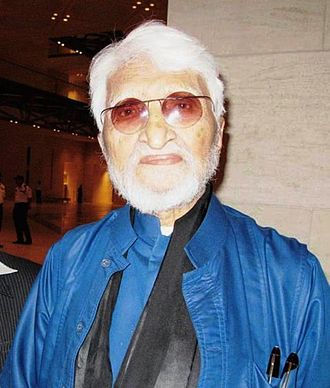 M. F. Husain - MF Husain at Museum of Islamic Art, Doha