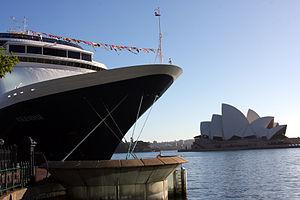 MS Volendam - MS Volendam in Sydney Harbour