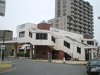 Mikawa Takahama Station Railway station in Takahama, Aichi Prefecture, Japan