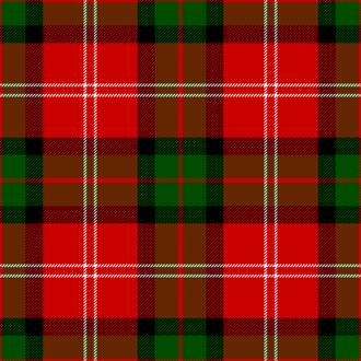 Clan Mackintosh - Makyntosche tartan, as published in 1842 in Vestiarium Scoticum.