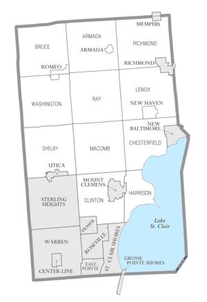 Center Line Mi >> Macomb County, Michigan - Wikipedia