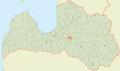 Madlienas pagasts LocMap.png