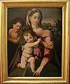 Madonna col Bambino e San Giovannino di Michele di Ridolfo del Ghirlandaio (Michele Tosini), metà del sec. XVI.jpg