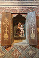 Madonna col bambino da un prototipo di benedetto da maiano, stucco dipinto, 1475-1500 ca. 01.JPG