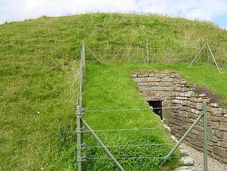 Maeshowe - Maeshowe Entrance