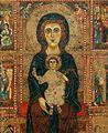 Maestro di Tressa. Madonna col Bambino in trono, due angeli e sei storie (mutile). 13 cent. Siena, Museo Diocesano..jpg