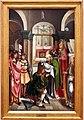 Maestro di lourinhã, retablo di san jacopo, 1520-25, 06 investitura della bandiera di san jacopo.jpg
