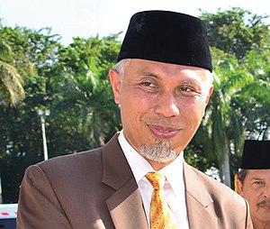 Mahyeldi Ansharullah - Image: Mahyeldi wako Padang