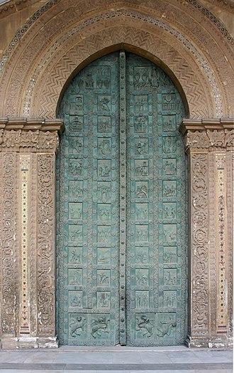 Bonanno Pisano - Monreale Cathedral gate