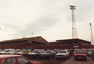 Maine Road - Facing the Kippax Stand in 1985