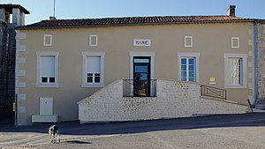 Birac, Charente - Image: Mairie Birac