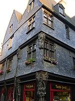 maison XVe siècle, place Plumereau