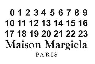 Maison Margiela - Image: Maison margiela corporate logo 2015