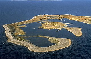 island in the Kalix archipelago, Sweden