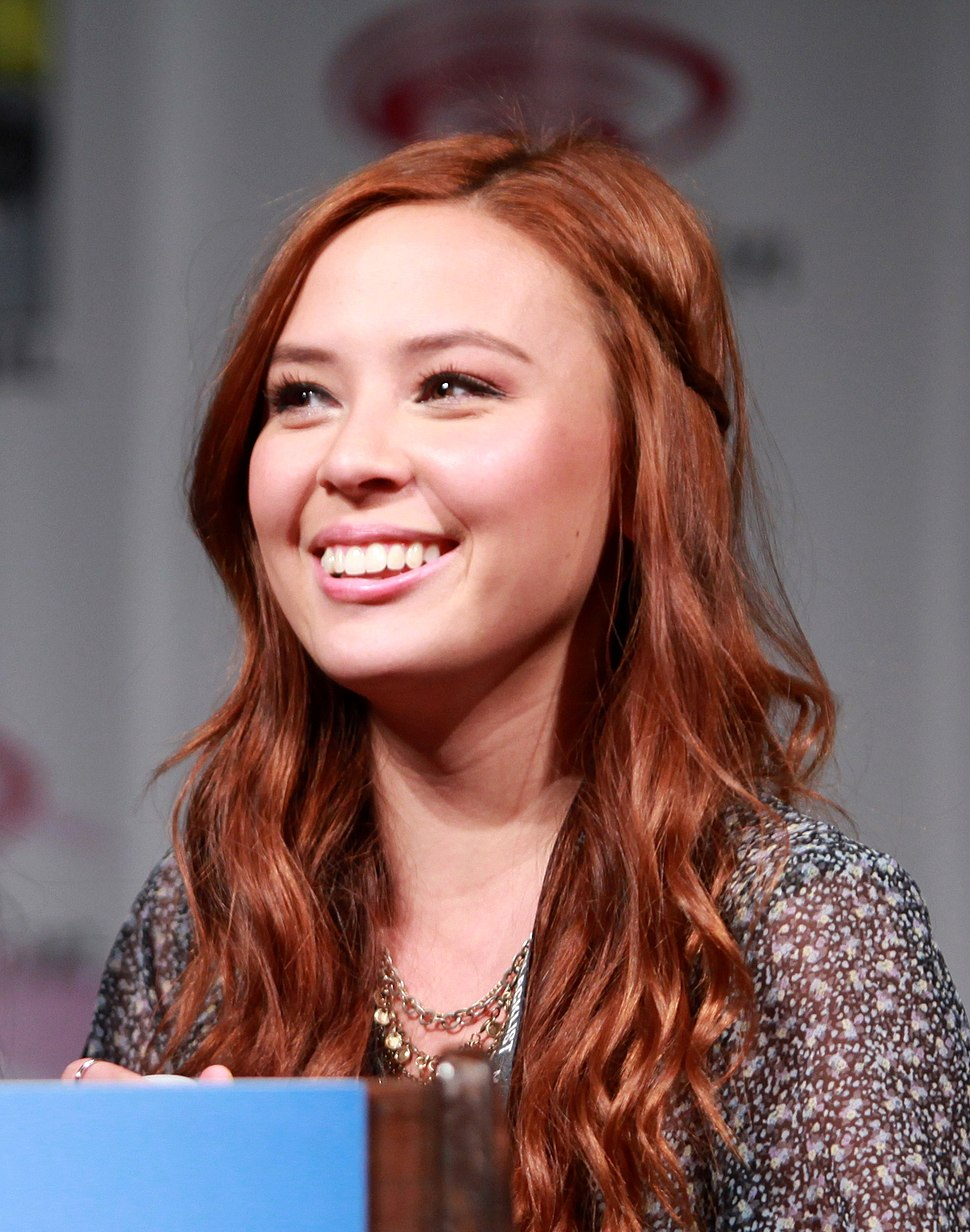 Malese Jow at WonderCon 2014