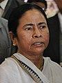 Mamata Banerjee - Kolkata 2011-12-08 7531 (cropped).JPG