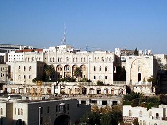 Hospice - Hospice Saint Vincent de Paul, Jerusalem